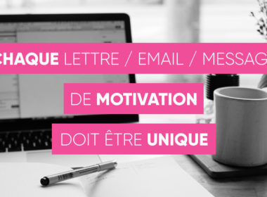 Lettre de motivation unique